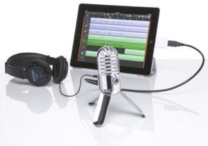 Samson Meteor Mic USB Studio/Podcast Mikrofon silber - 6