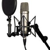 Rode NT-1A Großmembran-Kondensatormikrofon mit goldbedampfter und elastisch gelagerter 2,5 cm (1 Zoll) Nierenkapsel - 1