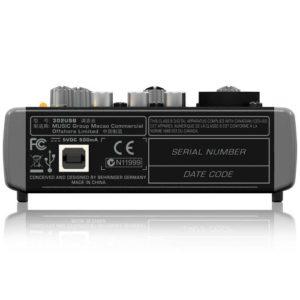 Behringer Mischpult XENYX 302USB 5-Input Mixer mit XENYX Mic Preamp und eingebautem USB Audio Interface - 2