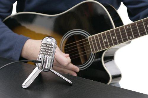 Samson Meteor Mic USB Studio/Podcast Mikrofon silber - 3