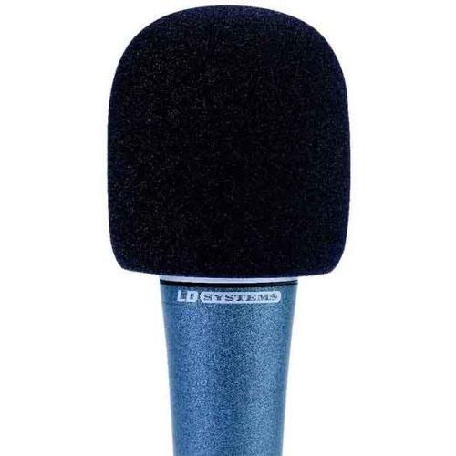 Windschutz für Mikrofone schwarz