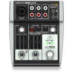 Behringer Mischpult XENYX 302USB 5-Input Mixer mit XENYX Mic Preamp und eingebautem USB Audio Interface - 8
